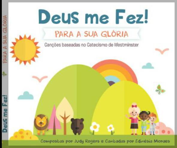 """NOSSO LANÇAMENTO: CD MUSICAL INFANTIL """"DEUS ME FEZ!"""""""