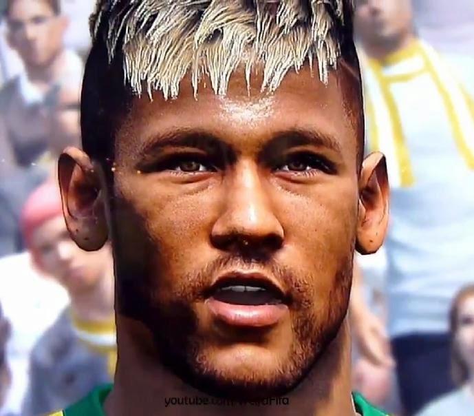 Faces em PES 2015: rostos de jogadores brasileiros