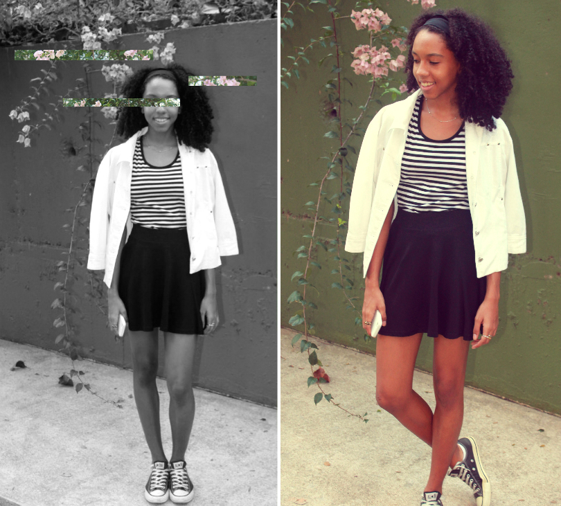 outfit of the day, fashion, style, black and white, b&w