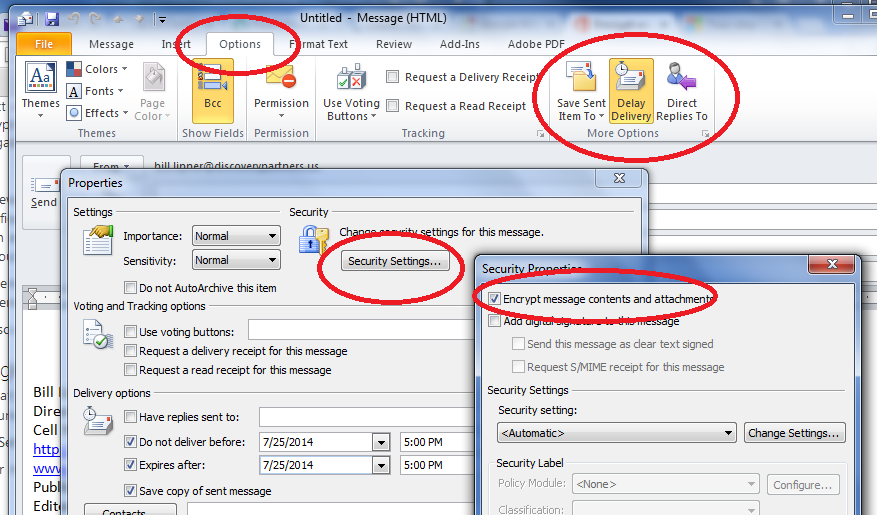 how to delete emails in outlook 2014