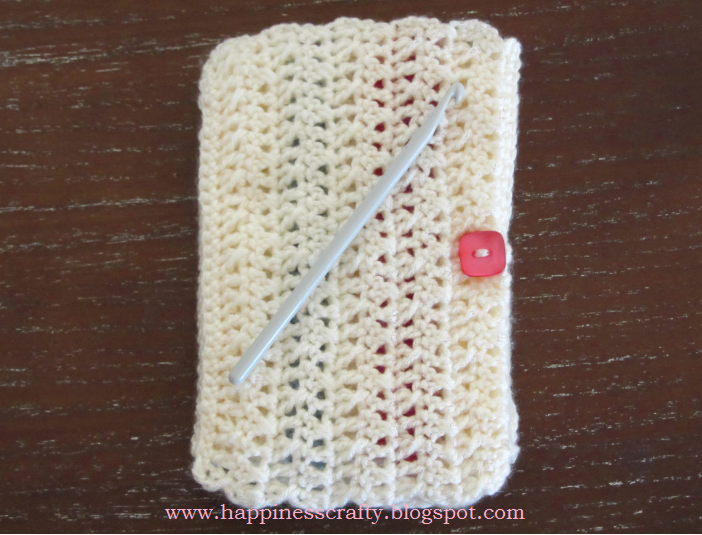 Crochet Patterns K Hook : Happiness Crafty: Crochet Hook Case ~ Free Pattern
