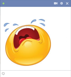 Facebook Wailing Smiley