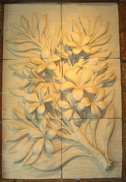 a flower fresco