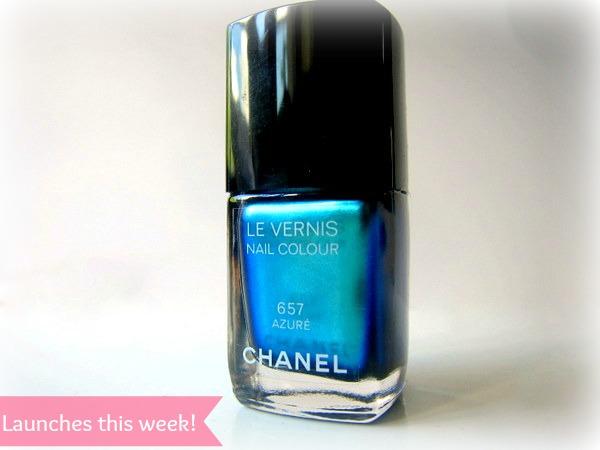 Chanel Le Vernis Azure Nail Polish Summer 2013