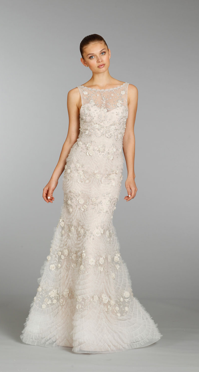 Lazaro fall 2013 bridal gown collection belle the magazine for Where to buy lazaro wedding dresses