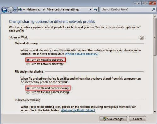 how to turn on network discovery
