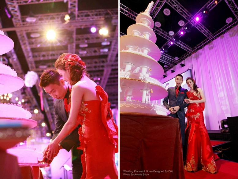 Malaysia wedding research 2015 mc wore a modern traditional gown junglespirit Image collections