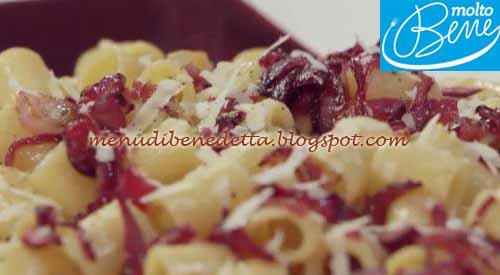 Gricia con cipolle caramellate ricetta Parodi per Molto Bene su Real Time