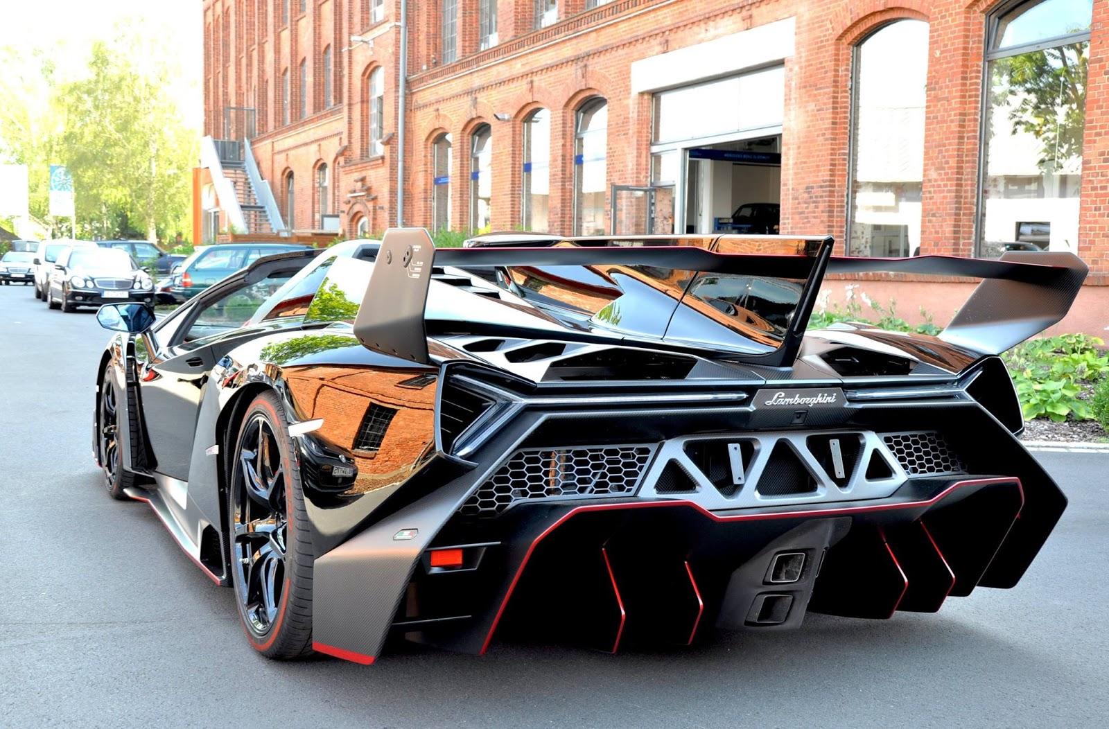 Auto Super Sport First Lamborghini Veneno Roadster Delivered