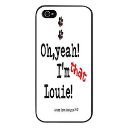 Funny Louie Pet Name iPhone 5 Case