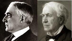 Thomas Edison and President Harding were the same man!