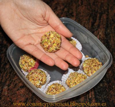 Ferreros Rocher Salados Con Arte y Paciencia