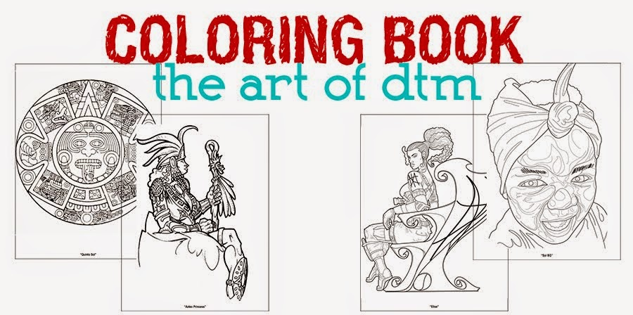 Coloring Book by DTM