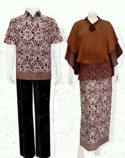 Dress Batik Sarimbit Baju Batik Pasangan Modern Toko