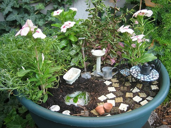 Fairy garden ideas for Craft ideas for fairy gardens