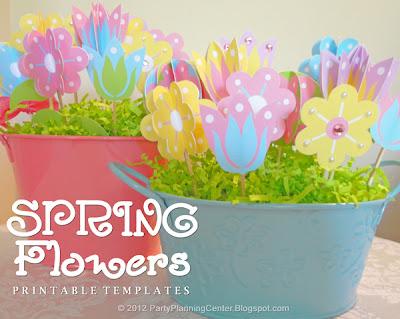 Χάρτινα 3d λουλούδια για διακόσμηση