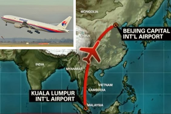 Malaysia Airlines Hilang Tiba-tiba