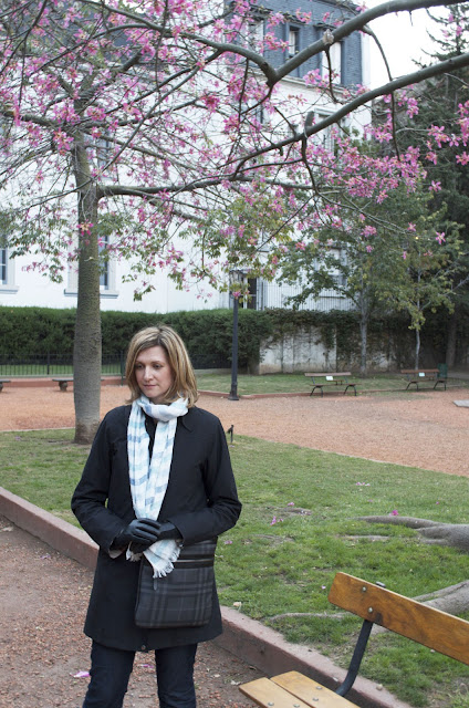 Don't Cry for Me Argentina - Last Day Zara Blazer, H&M Peplum Top