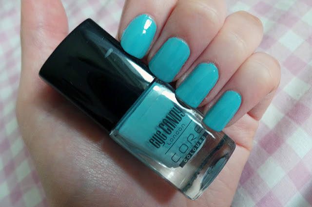 Eye Candy London Professional Nail Colour Core Colours Peppermint Dream Review and Swatches