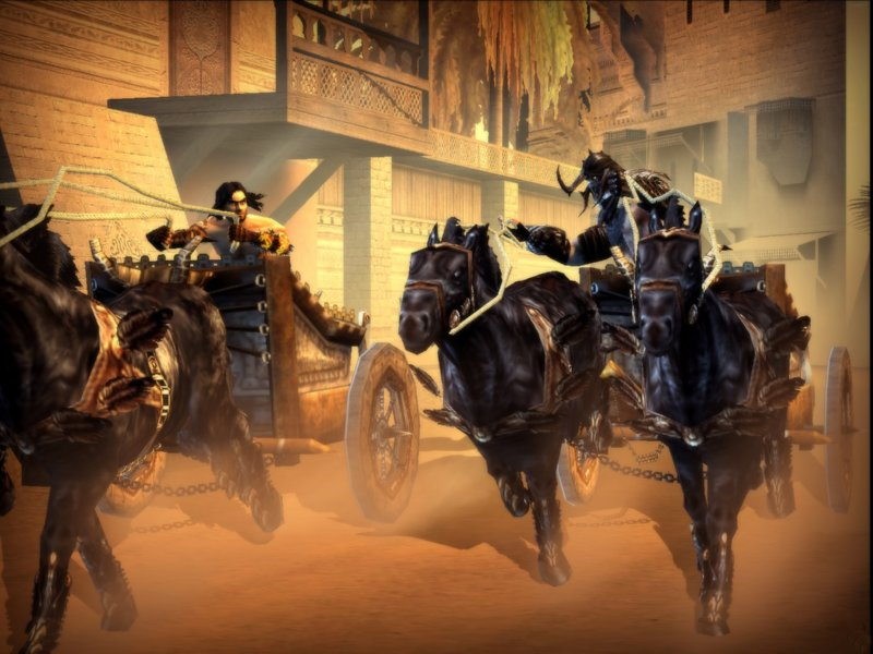 Prince Of Persia 3 - The Two Thrones Game ScreenShot