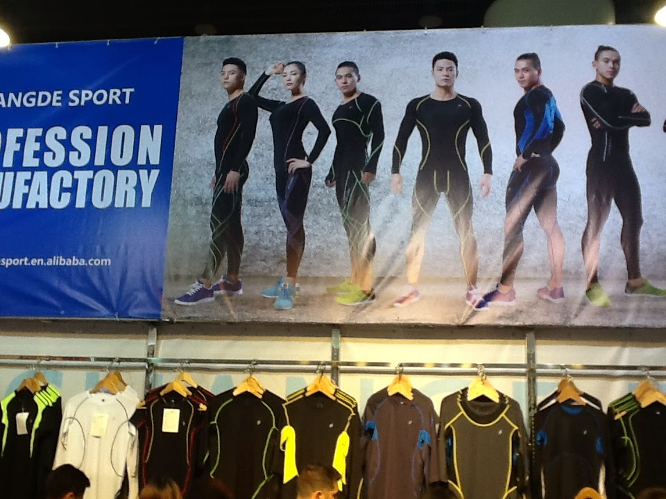 Targi w Kantonie - odzież sportowa