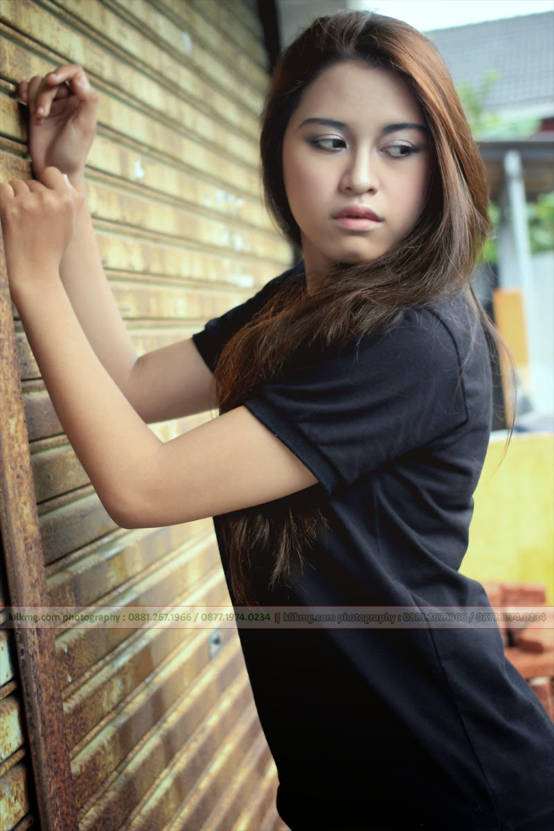 Delana Belicia in Daily Casual Simple / Model Purwokerto , Model Banyumas , Model Indonesia