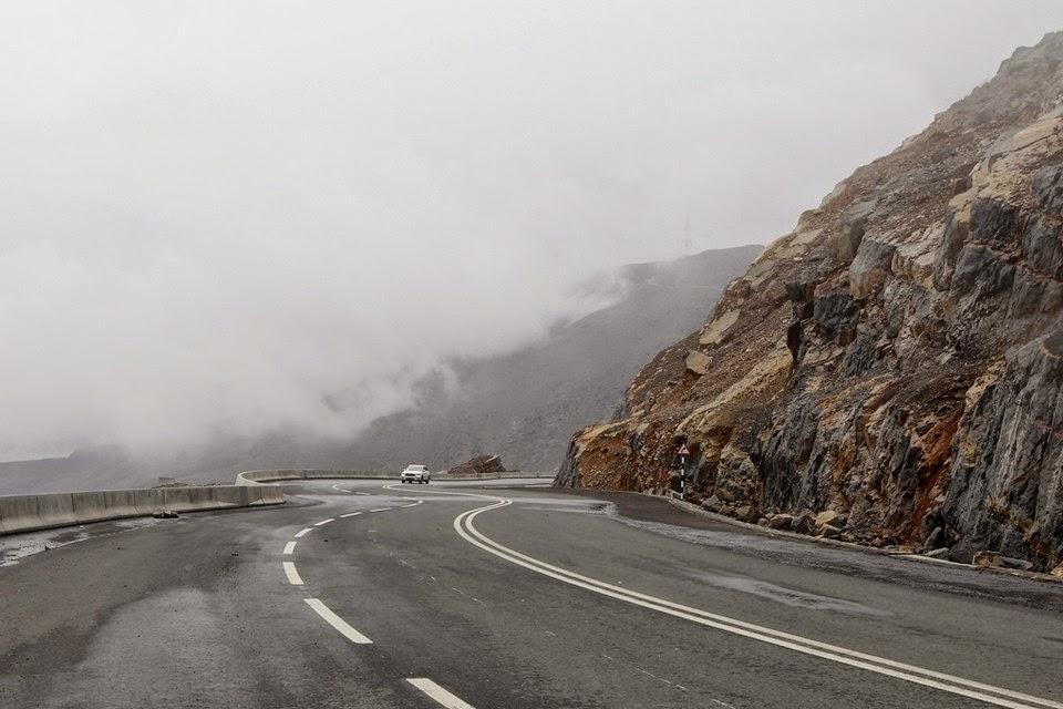 Northern Emirates mountain road