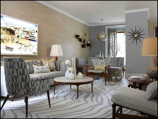 Great Mod Retro Home Decor Retro Mod Style Decorating Ideas   Mid Century Mod  Style Decorating Ideas