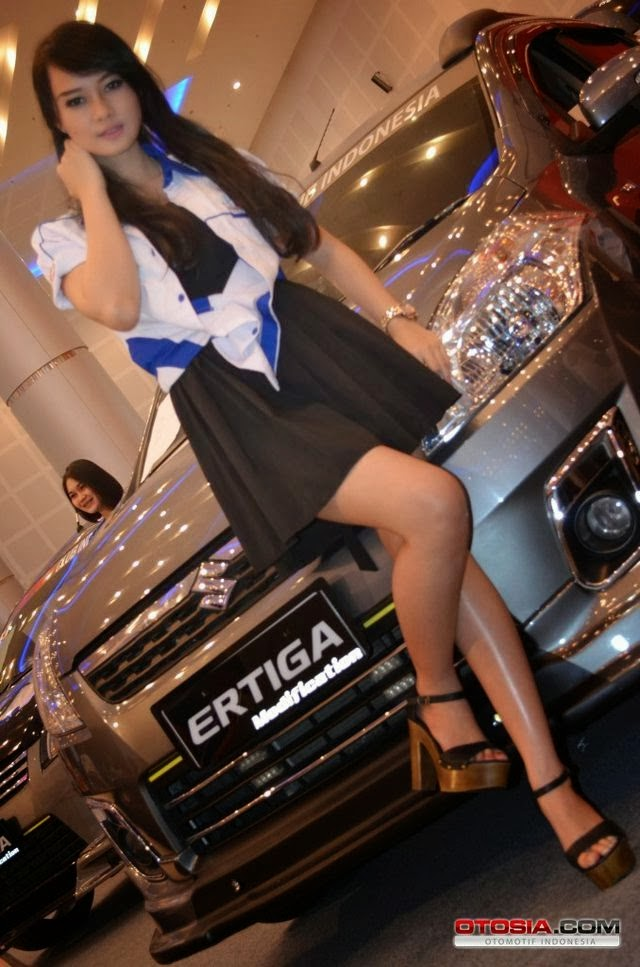 Auto Babes Ertiga Modification Contest Surabaya