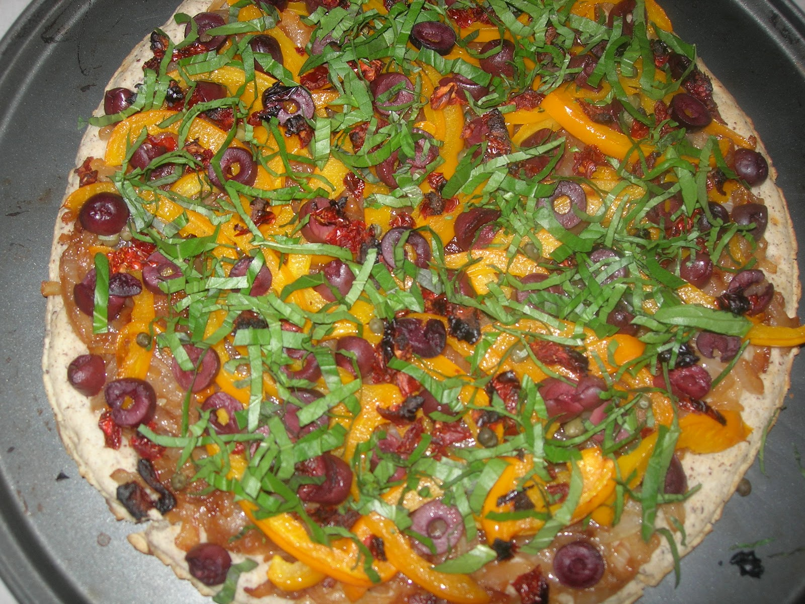 Vital Vegan: Caramelized Onion Pizza with Peppers and ...