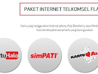 Macam-macam Paket Internet Telkomsel Flash Untuk Modem