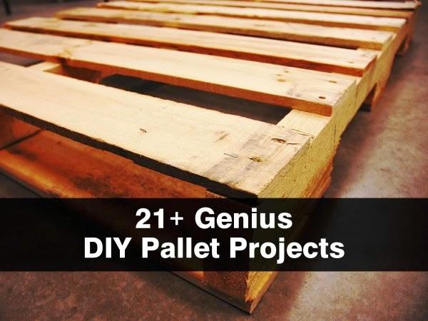 21 Genius DIY Pallet Projects HANDY