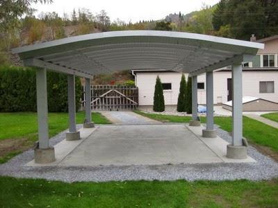 Desain Carport Batu Alam