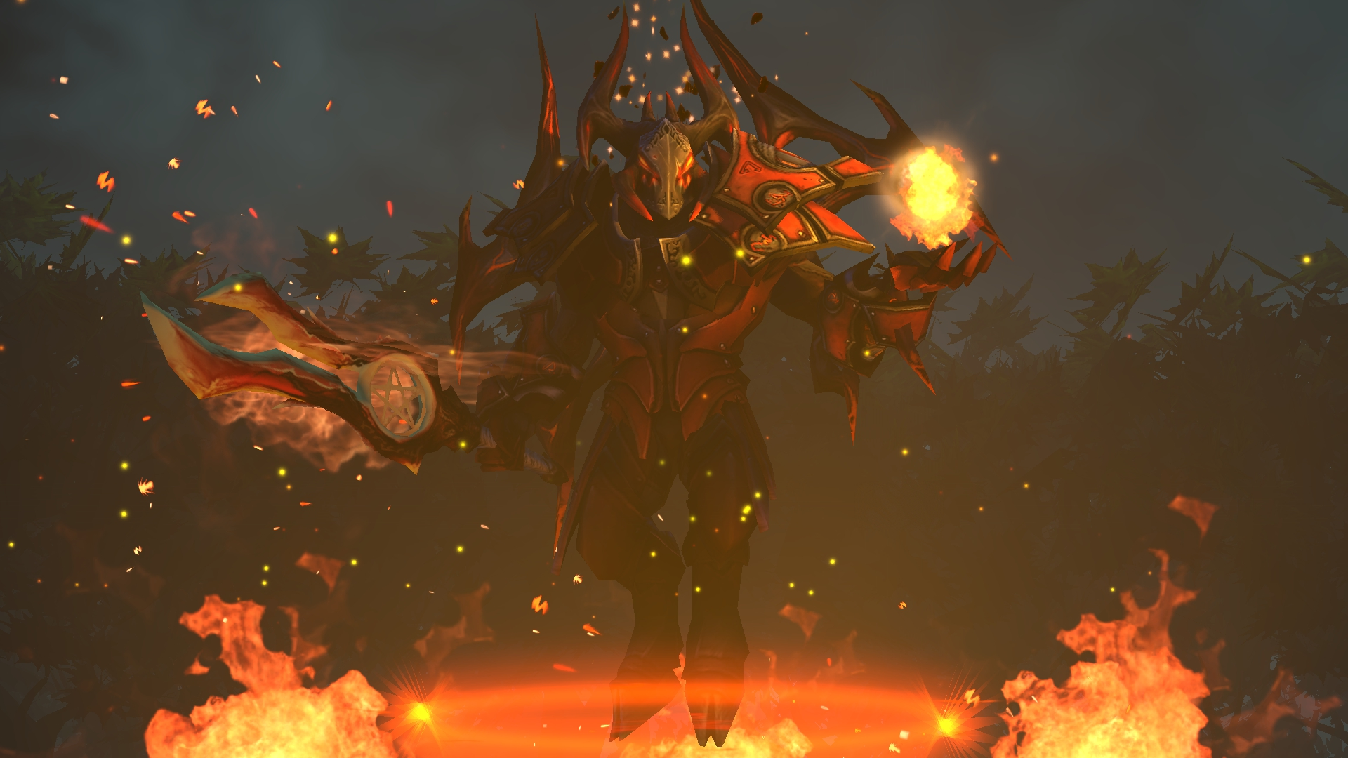 dota 2 doom lucifer 3h wallpaper hd