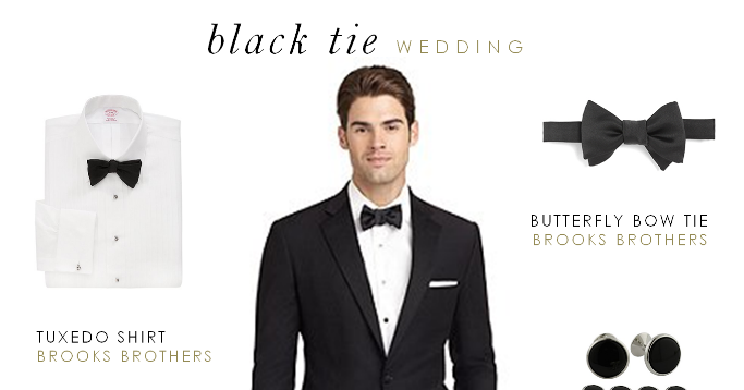 What to wear to a black tie affair party