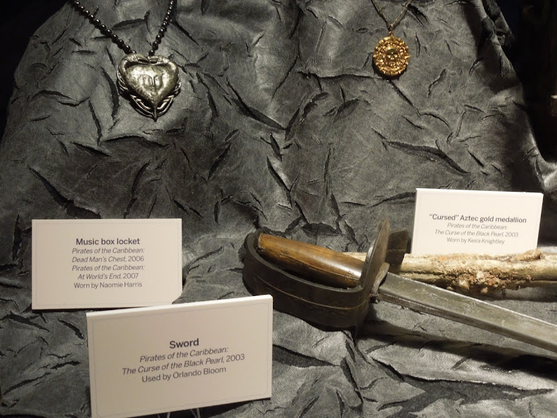 Pirates of the Caribbean jewelry sword props