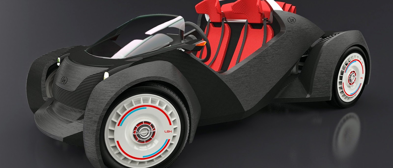 Fully 3D Printed Car Close to Being Completed