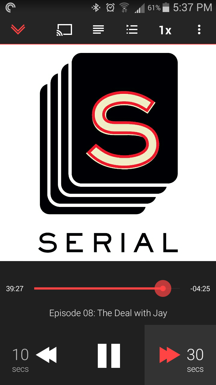 serial podcast dating Over the last few years, there have been several massively successful podcasts ( like serial) that have propelled podcasts into a brand new.