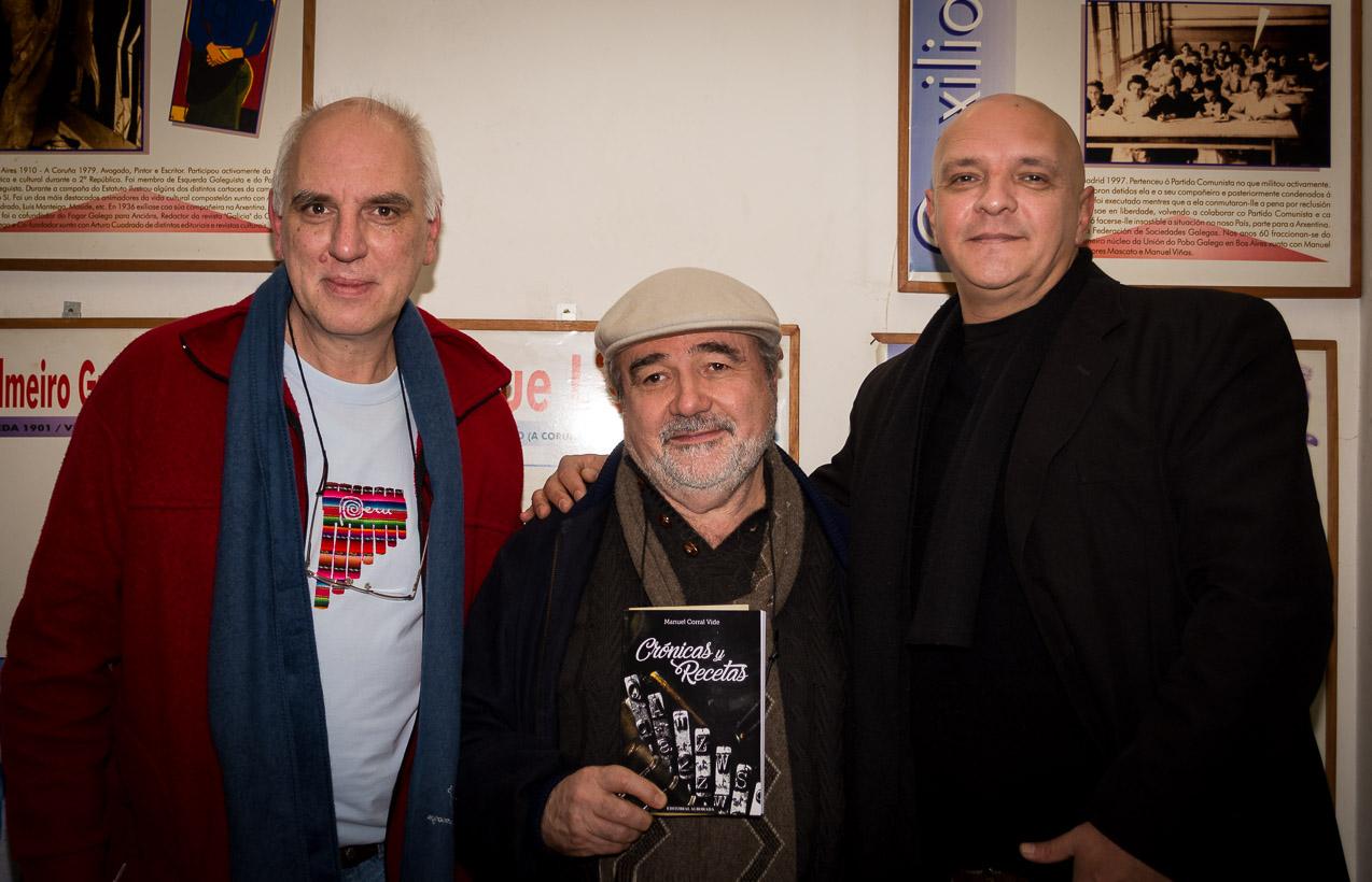 Junto al Chef Manuel Corral Vide