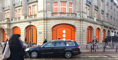 apple amsterdam store image