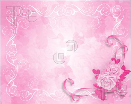 pink bride email background
