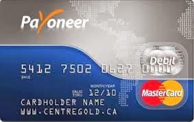 Get Payoneer Mastercard with Blog