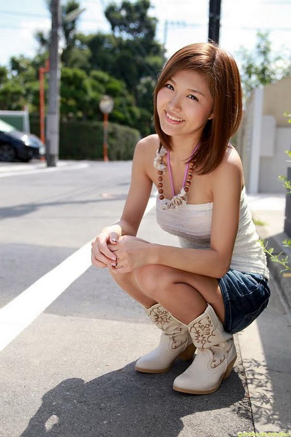 Asian girls skirt