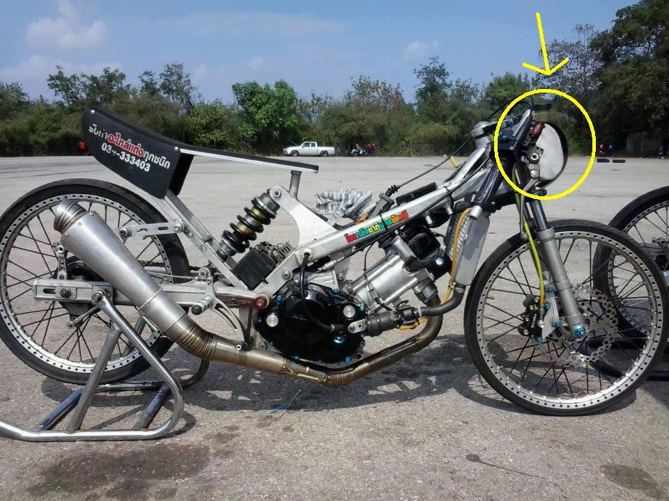 Herdiansyah tanki motor drag style baru for Western hills honda yamaha cincinnati oh