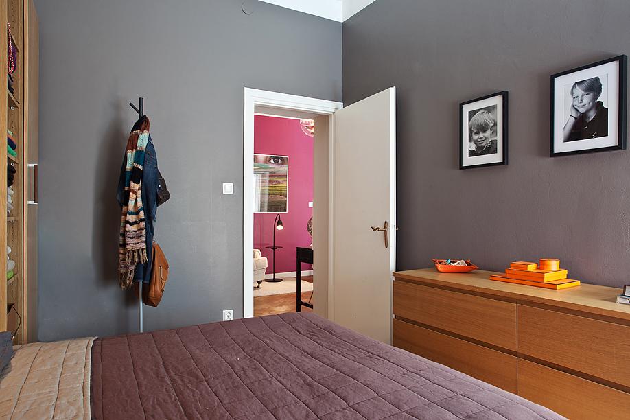 Un piso familiar sueco boho deco chic - Comoda malm 4 cajones ...