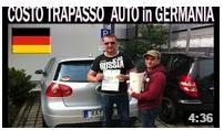 COSTO PASSAGGIO PROPRIETA´ AUTO in GERMANIA
