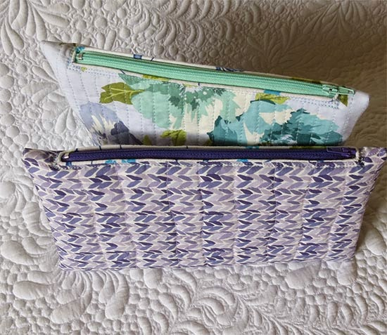 quick gifts to sew- pouches