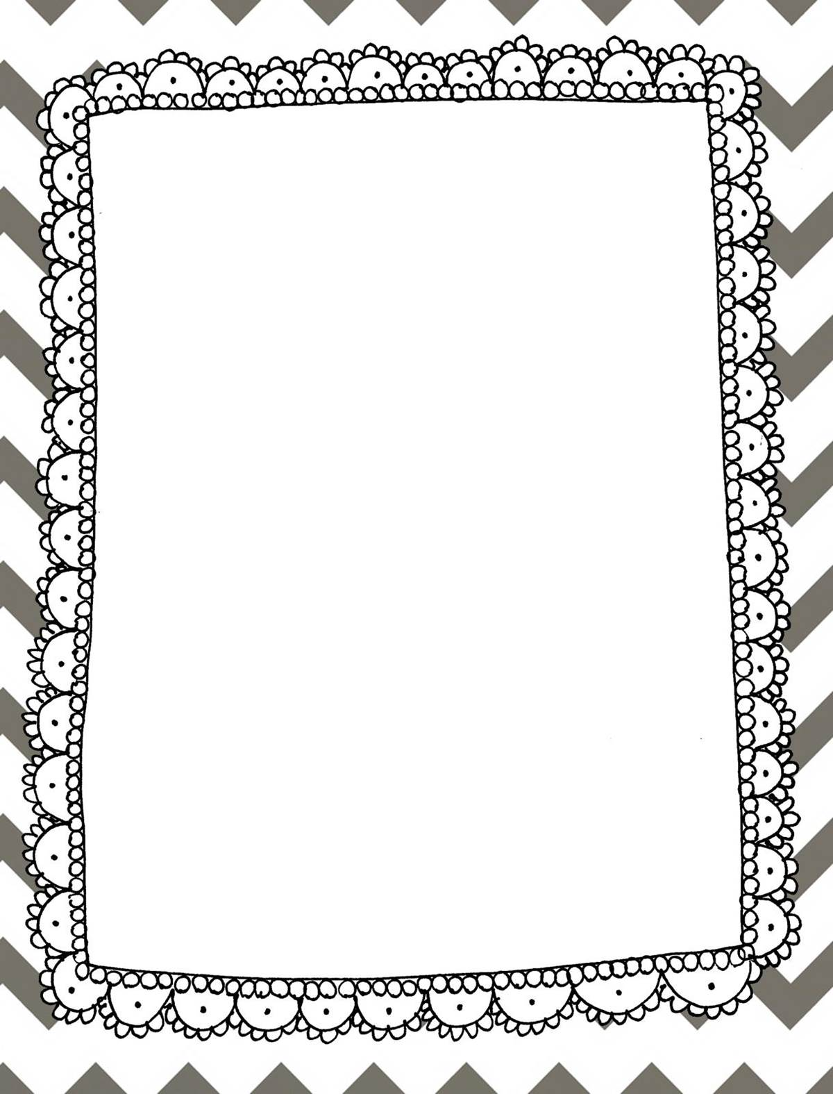 Binder spines are included for 4 different sized binders: (the Chevron ...