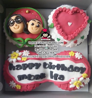 2D Birthday Cupcake Murah Daerah Surabaya - Sidoarjo