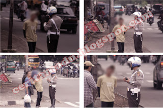 Tukang becak bentrok dengan polisi, polisi kecewa dengan tukang becak, tukang becak cerdas